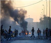 مقتل متظاهر في بغداد بعد إصابته بعبوة غاز مسيل للدموع