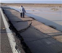 إصلاح أضرار السيول في الحسنة بوسط سيناء