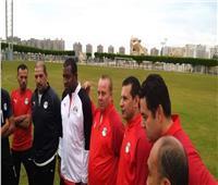 صور| غريب في مران منتخب الشباب ويوجه كلمة للاعبين