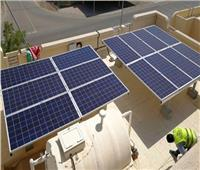 المبني الرئيسي بالكهرباء يعمل بالطاقة الشمسية