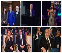 صور| وزراء ومشاهير في حفل عمر خيرت بـ«العاصمة الإدارية»