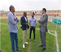 الكاف والجبلاية يعاينان ملعب إيروسبورت قبل بطولة أمم إفريقيا