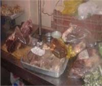 ضبط طن لحوم و560 فرد حمام فاسد بمخزن بمدينة نصر