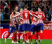 شاهد| أتلتيكو مدريد يتقاسم الصدارة مع برشلونة في الليجا