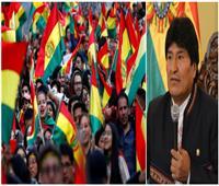 احتجاجات شعبية في بوليفيا على إعادة انتخاب «إيفو موراليس» رئيسًا للبلاد