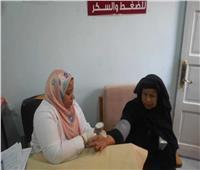 قافلة طبية مجانية بالقرية المركزية ببرج العرب