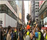 بث مباشر| احتجاجات ضد الشرطة وعمليات اعتقال المتظاهرين بهونج كونج