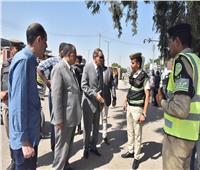 محافظ أسيوط يتفقد الأعمال لإنشائية لكوبري ونفق نزلة عبد اللاه