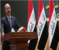 أول تعليق من الرئيس العراقي على مقتل «البغدادي»