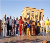 وزيرة الهجرة: «مهرجان الأفروصيني» رسالة سلام نابعة من أرض طيبة