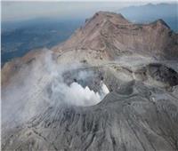 رفع مستوى التحذير من بركان في جزيرة جنوب غرب اليابان
