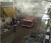 بالصور| حريق شقة سكنية بسبب تسرب غاز في الإسكندرية