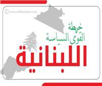 إنفوجراف| خريطة القوى السياسة اللبنانية