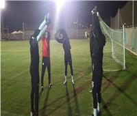 مران قوي للمنتخب الأوليمبي في بداية المعسكر المغلق