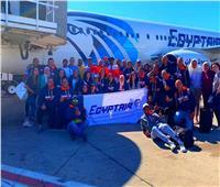 مصر للطيران تنقل 40 لاعب مصري للمشاركة في بطولة Ironman 70.3 بالمغرب
