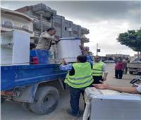 إزالة 502 حالة إشغال طريقبنطاق 3 مراكز بمحافظة البحيرة