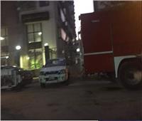 النيابة تنتقل لمعاينة حريق وزارة التضامن