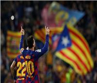 فيديو| ميسي يقود برشلونة لصدارة الليجا بخماسية في بلد الوليد