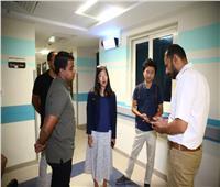 متطوعان من وكالة «الجايكا» يزوران مستشفي شفاء الأورمان