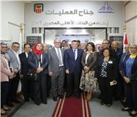 البنك الأهلي المصري يفتتح أعمال تطوير جديدة بمستشفى الدمرداش