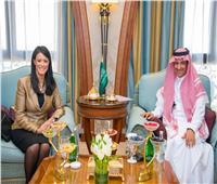 المشاط  تلتقي رئيس الهيئة العامة للسياحة والتراث الوطني السعودي