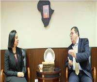 مايا مرسي تبجث مع «العمروسي» سبل التعاون في مجال تمكين المرأة