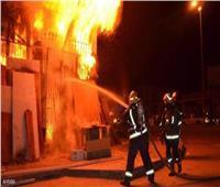 حريق بسور المكتب الفني لحديقة الحيوان بالجيزة دون إصابات