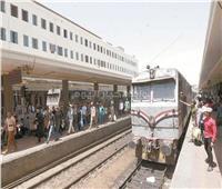 سقوط طالبة من باب قطار في بني سويف