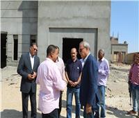 تكثيف ورديات العمل لسرعة الانتهاء من أعمال تجديد مستشفى أبوتشت