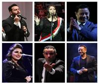 مهرجان الموسيقى العربية| 4 حفلات على مسارح الأوبرا
