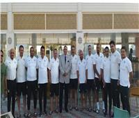 مدير أمن السويس في معسكر المنتخب الأولمبي