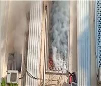 حريق بكنيسة مارى جرجس الجيوشى بشبرا