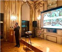 وزير الآثار يلقي محاضرة عن الاكتشافات الأثرية بالمركز الثقافي بلندن