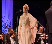 صور| نداء شرارة تتألق بافتتاح مهرجان الموسيقى العربية على مسرح الجمهورية