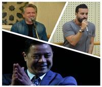 مدحت صالح.. مروان خوري.. وسعد رمضان نجوم ثاني ليالي مهرجان الموسيقى العربية