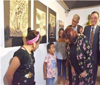 وزير الثقافة تفتتح الدورة التأسيسة لبينالي فنون الطفل بمركز الجزيرة