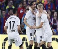 فالنسيا يفوز على مضيفه إسبانيول 2 - 1 في الدوري الإسباني