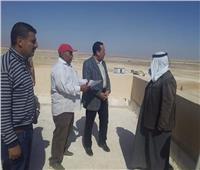 محافظ شمال سيناء: الانتهاء من ٨٠ %من التجمعات التنموية بالحسنة ونخل