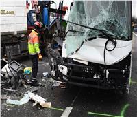 إصابة 33 شخصًا إثر حادث سير لحافلة بين باريس ولندن