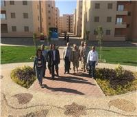 مساعد نائب«المجتمعات العمرانية الجديدة» يتفقد المشروعات الجاري تنفيذها بمدينة بدر