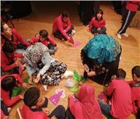 صور| أنشطة ثقافية وفنية متنوعة لأطفال مستشفى أبو الريش