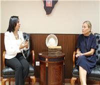 سفيرة النرويج تعبر عن إعجابها الشديد بدور المرأة المصرية في المجتمع