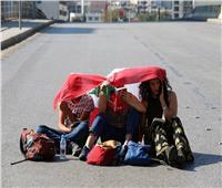 صور| في اليوم الـ19 لتظاهرات لبنان.. إضراب عام