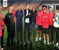 «فضل» للاعبي المنتخب الأولمبي: ننتظر منكم البطولة