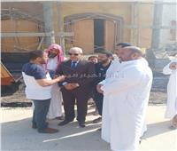 صور  «محافظ مطروح» يتفقد مشروعات بمدينة الضبعة