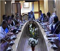 محافظ أسوان يلتقي وفد منظمة اليونيسيف