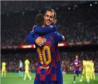 «ميسي» و«ديمبيلي» و«جريزمان» يقودون هجوم برشلونة أمام سلافيا براغ