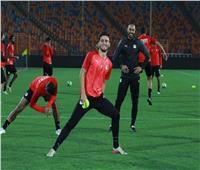 بالصور| المنتخب الأولمبي يواصل الاستعداد لضربة البداية أمام مالي