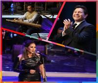 صور| مهرجان الموسيقى العربية في مثلث الأحلام