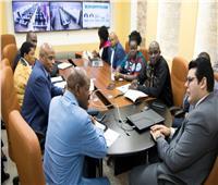 وفدأوغندي يشيد بخطة الإصلاح الإداري بمصر
